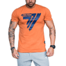 Koszulka Trec Nutrition MEN'S TREC WEAR - PLAY HARD 008 - T-SHIRT/ORANGE
