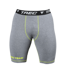 "Spodnie Trec Nutrition MEN'S TREC WEAR - SMALL GREEN LOGO ""TREC"" - PRO SHORT PANTS 002/GRAY"