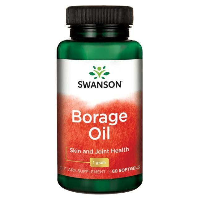 Suplement diety Swanson Borage Oil 60 kaps